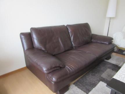 3er Leder Sofa Couch NATUZZI in Niedersachsen - Wolfsburg | eBay ...