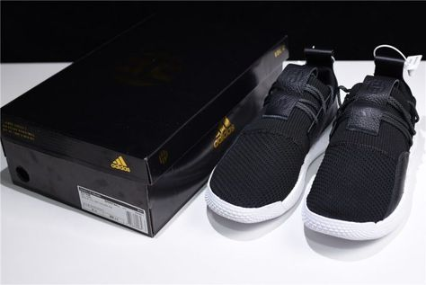 3c87eabb958d 2018 Mens Adidas Harden LS 2 Buckle Black White AC7438 For Sale – Sole  Adidas