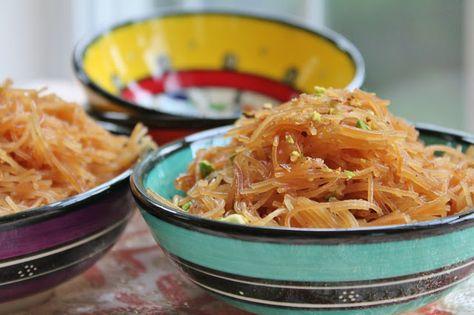 'Sweet 'n Golden Vermicelli Noodles' A Traditional Iraqi Dessert/recipe