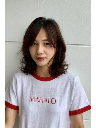 2019年秋 ミディアムの髪型 ヘアアレンジ 人気順 ホットペッパー