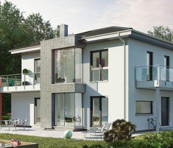 Concept-M 145 - Bien Zenker ➤ Fertighaus mit Walmdach ...
