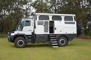 Earthcruiser U430 Unimog Motorhome Unimog Expedition Vehicle