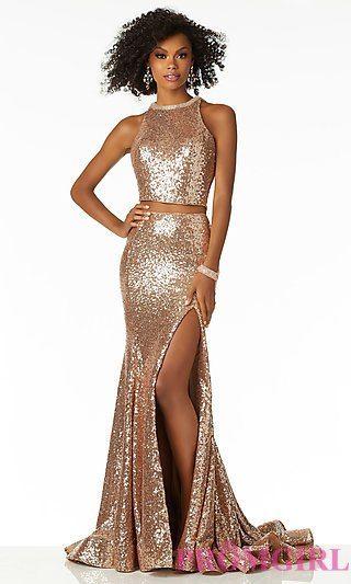 20+ Gold 2 piece prom dress ideas in 2021