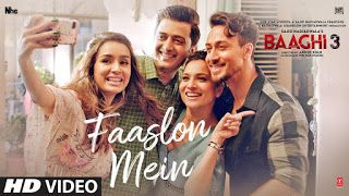 Faaslon Mein Baaghi 3 Lyrics Play Audio Mp3 Song Video In 2020