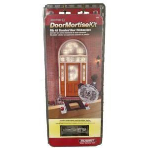 Complete Door Mortising Kit For Routers Mortising Door Strikes Doors