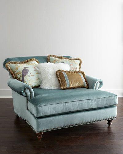 H78b0 Massoud Stella Chaise Furniture Oversized Chair Home Furnishings