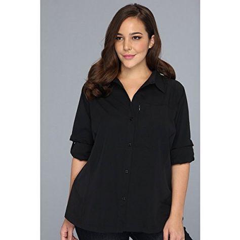 Columbia Plus Size Silver Ridge L//S Shirt