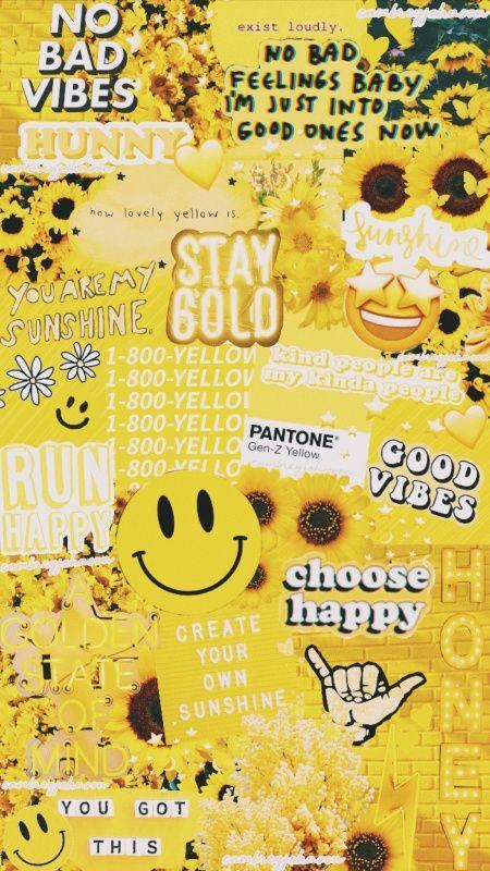 Vsco Cambreyjohnson Yellow Aesthetic Pastel Iphone Wallpaper Yellow Pastel Aesthetic