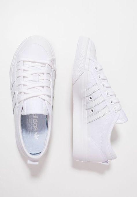 45f04483eb26dc GAZELLE - Sneaker low - grey one footwear white grey two   Zalando.de 🛒 in  2019