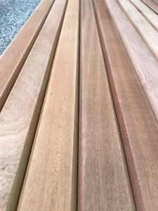 Pleasing 12 Sapele Hardwood Garden Bench Slats 53Mm X 21Mm X 1220Mm Machost Co Dining Chair Design Ideas Machostcouk