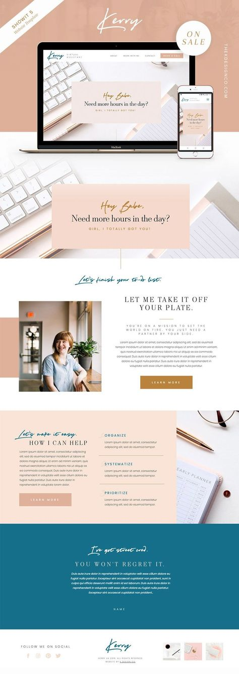 Kerry - ShowIt 5 Template - K Design Co.