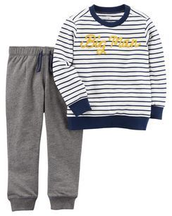 8ddf84c0c 2-Piece French Terry Pullover   Jogger Set
