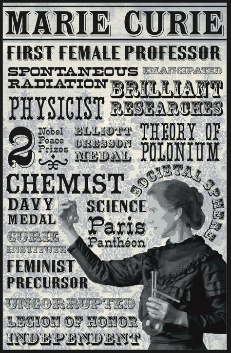 Marie Curie died 80 years ago today from leukaemia caused by her research. During World War 1 she helped to equip ambulances with x-ray equipment, which she herself drove to the front lines. She was the first woman to win a Nobel Prize, the only woman to win in two fields, and the only person to win in multiple sciences. #alwaysremembered #OnThisDay