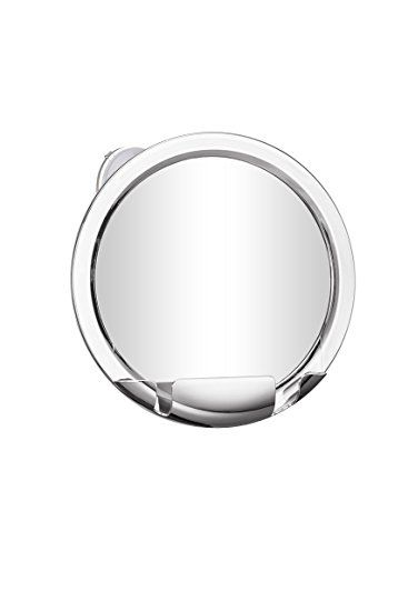 Cheftick 3x Round Wall Mounted Shower Mirror Magnifying