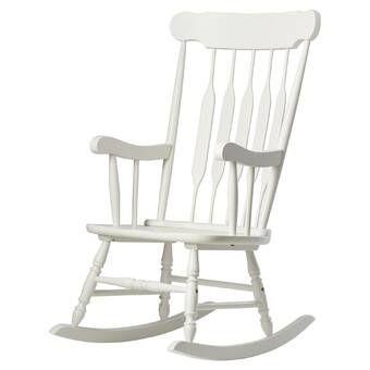 Mcneel Rocking Chair Reviews Birch Lane White Rocking Chairs Rocking Chair Comfy Rocking Chair