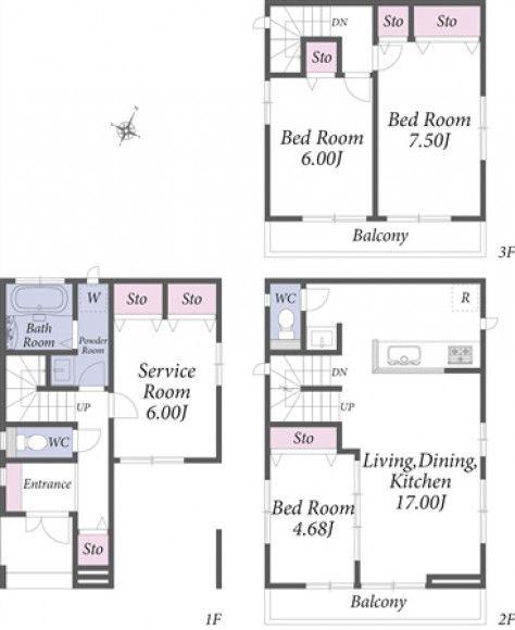さいたま市浦和区 4 000万円 5 000万円の一戸建て オープンハウス