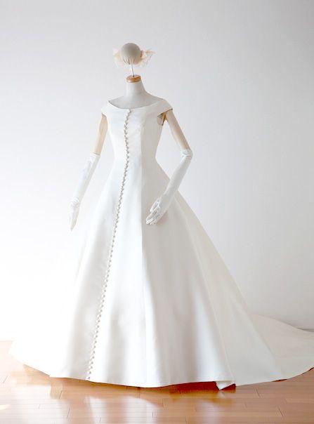 肩ありドレス14 2020 ドレス ガウン ウェディングドレス 白
