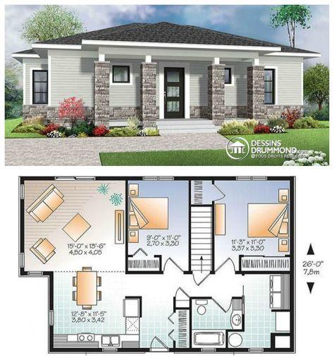 À la recherche d'un plan de maison moderne à la fois très original et très économique ?   Voici le modèle parfait pour vous >>>  http://ow.ly/ybKzN