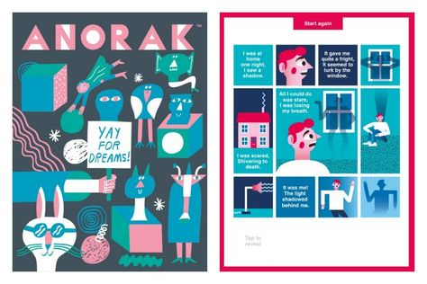 Anorak magazine for kids is now an app for iPad