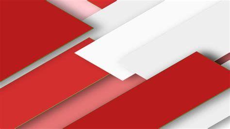 Background Putih Langit Bendera Merah Desain Banner