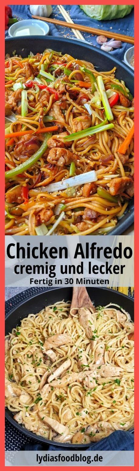Hähnchen Chow Mein – Einfache Asiapfanne mit Gemüse und gebratenen Nudeln. Mageres, zart mariniertes Hähnchenfleisch mit frischem, knackigen Gemüse und ein paar herrlich lecker angebratene Nudeln. So einfach kann lecker sein! Hähnchen Chow Mein ist ein absolut anfängerfreundliches Rezept, dass auch Einsteigern in die asiatische Küche auf Anhieb gelingt. #chowmein #hähnchen #geflügel #asiapfanne #chickenchowmein  #Rezept #Haferflocken-Erdbeerkuchen #Weight #Watchers #skincarediys #beautynails #be