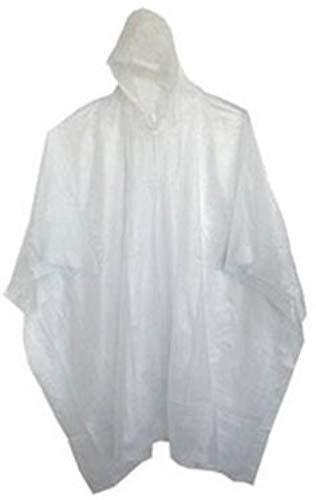 Raincoat Waterproof Poncho Reusable Plastic Adult Camping Festival Rain Coat XS