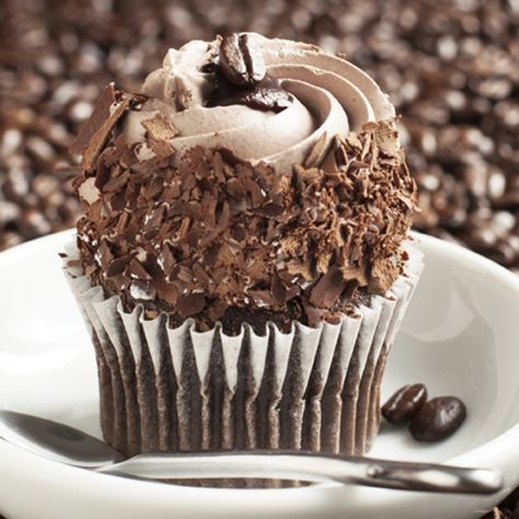 A wonderful mocha cupcake for the coffee lover.. Mocha Cupcakes Recipe from Grandmothers Kitchen.