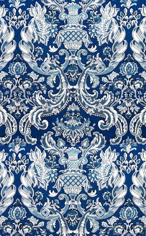 Wallpaper Barock Muster Mustertapete Tapeten