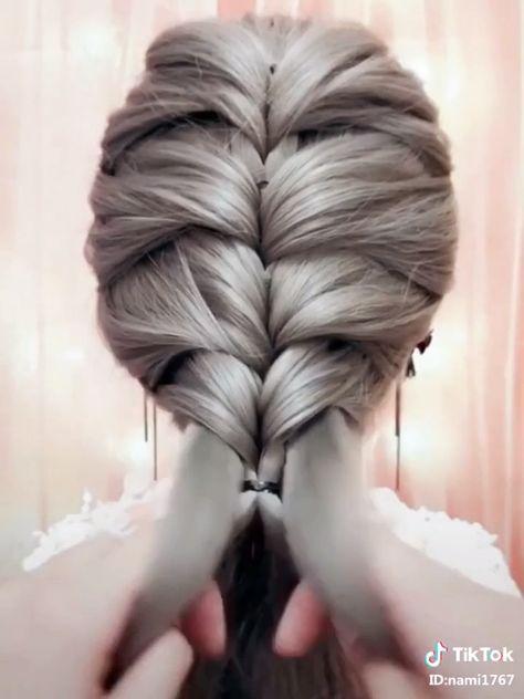 School Girls Horsetail Hairstyle! 10+