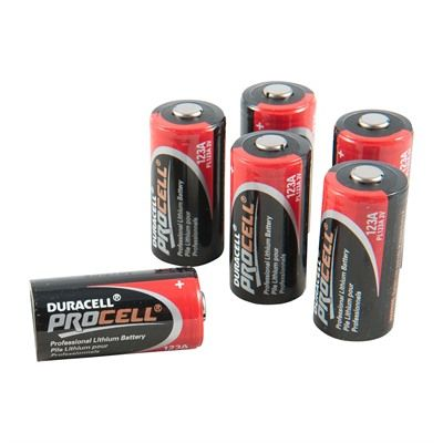 Duracell Procell Cr123a Lithium Batteries Brownells Duracell Lithium Battery Light Flashlight