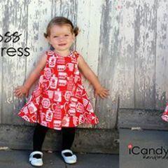 Vestido Niña Cruzado Por La Espalda Para Verano Baby Dress Patterns Dresses Summer Dresses