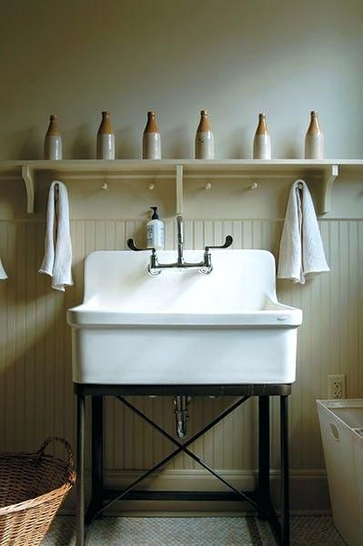 Vintage Utility Sink Best Laundry Sinks Ideas On Room Old Fashioned Tub Double Laundry Room Sink Laundry Room Decor Laundry Mud Room