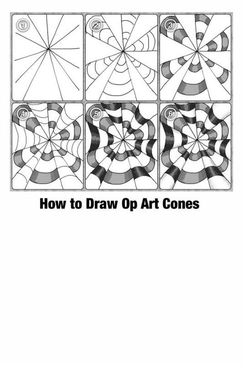 List of Pinterest zentangle step by step pattern op art pictures