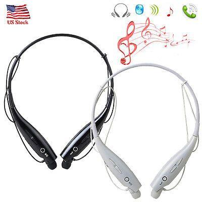 Bluetooth Headphones Neckband Wireless Earbuds For Iphone 11 8 7 6s Samsung Htc Ebay Headphones Wireless Earbuds Bluetooth Headphones