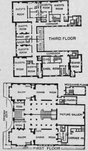 2 2 Astor Mansion Floor Plans Castle Floor Plan Mansions Mansion Floor Plan