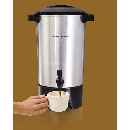 Hamilton Beach 45 Cup Coffee Urn Model 40515r Walmart Com In 2020 Coffee Urn Coffee Brewer Coffee Pods