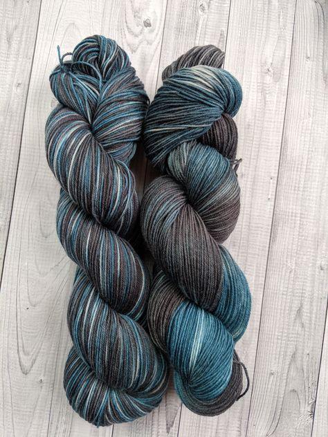 Gentle Merino by Fibra Natura Merino Wool Yarn Blend Hand Knitting Yarn Bamboo Yarn Baby Weight Yarn BlueMint Green Solid Color