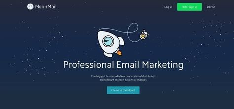 The easiest way to send Email Marketing Newsletters! Create, design and analyze your Email Marketing campaigns in a minute using MoonMail the top Email Marketing Software Platform.