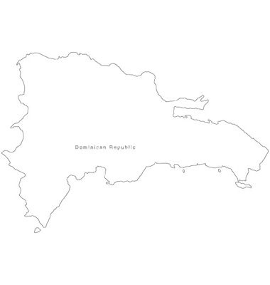Dominican Map Outline Google Search Tattoos Pinterest Tattoo - Dominican republic map vector