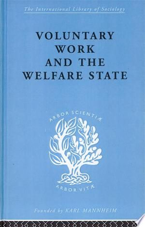 Voluntary Work In The Welfare State Pdf Download Educational Psychology Psychology Welfare State