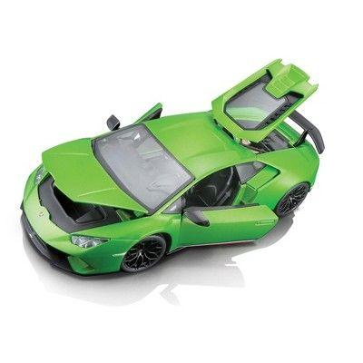 Lamborghini Huracan Performante Metallic Green 1 18 Diecast Model Car By Maisto In 2021 Car Model Diecast Model Cars Diecast Models