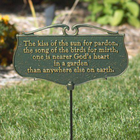 Patio Garden Garden Poems Sun Garden Garden Signs