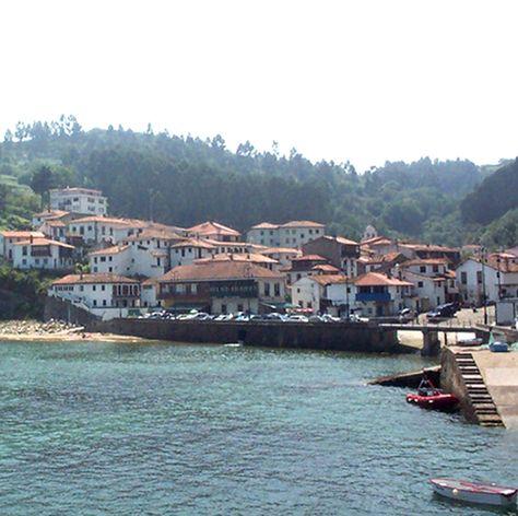 Tazones Beach, Asturias, Spain