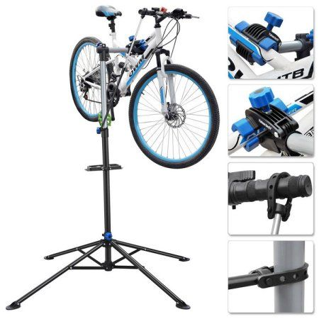 Pro Bike Adjustable Repair Stand w// Telescopic Arm Bicycle Cycle Rack Workstand