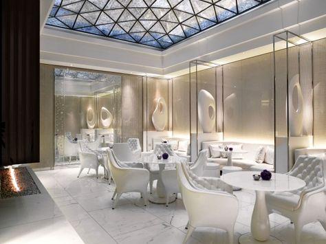 The Corinthia Hotelu0027s ESPA Life spa lounge - Image - Design Build - hotel appartements luxuriose einrichtung hard rock hotel las vegas
