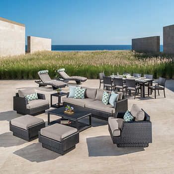 Super Portofino Comfort 19 Piece Estate Collection Taupe Mist Download Free Architecture Designs Jebrpmadebymaigaardcom