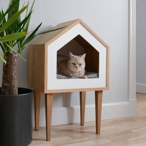 Pin On Dlya Zhivotnyh Cat House Diy Cat Houses Indoor Cat Decor
