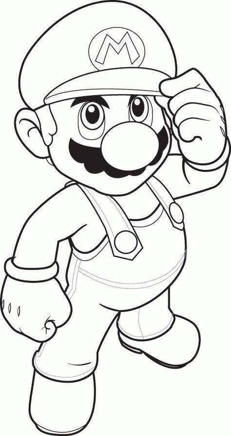 Kleurplaten Nl Kleurplaten Mario Super Mario Luigi Mario Kart