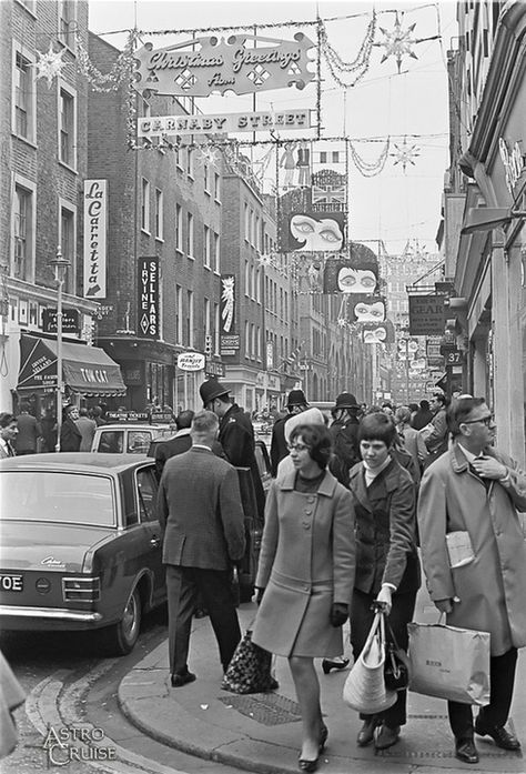 Christmas on Carnaby Street, 1960s