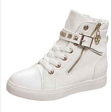 scarpe da donna punta a punta tacco piatto scarpe da ginnastica di moda con  le scarpe rivetto più colori disponibili – EUR € 25.78 66df4413fb0